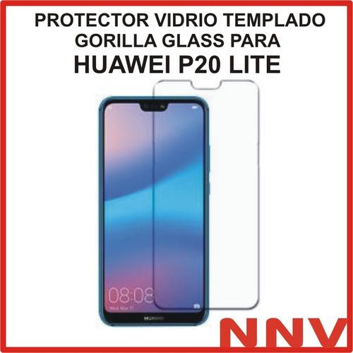 protector vidrio templado gorilla glass p/ huawei p20 lite