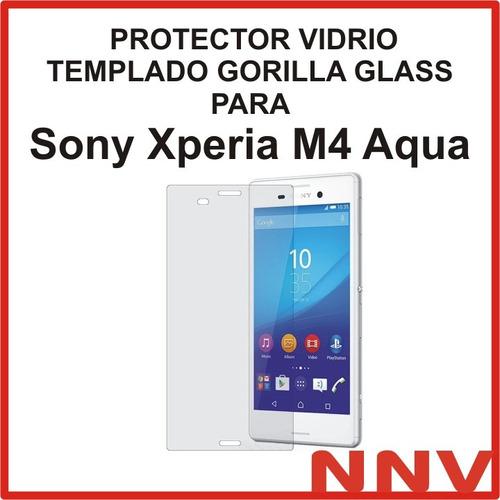 protector vidrio templado gorilla glass sony xperia m4 aqua