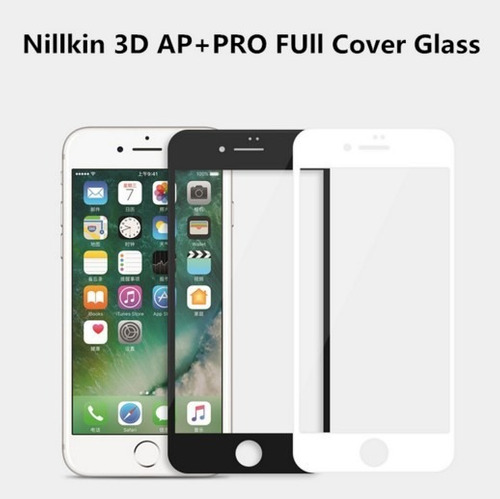 protector vidrio templado nillkin ap+ 3d iphone 7 / 7 plus
