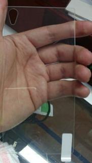 protector vidrio trasero biselado sony xperia z5 premium