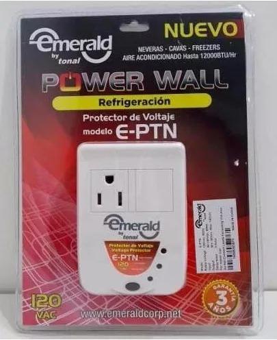 protector voltaje 1 toma nevera freezer aire 110v tn-1
