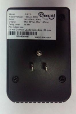 protector voltaje 110v equipos electronicos 2 tomas e-pte