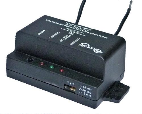 protector voltaje 220v con supresor de picos - 30 amp