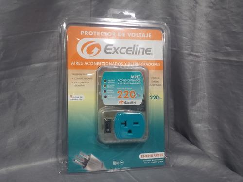 protector voltaje exceline aires 220 voltios refrigeradores