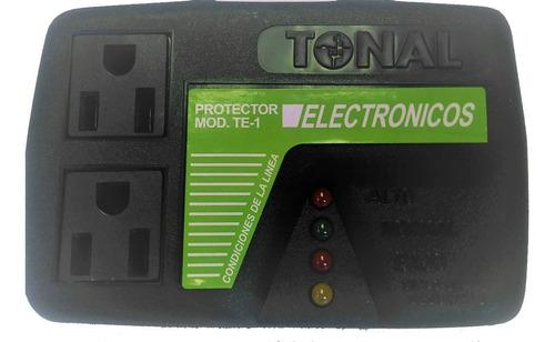 protector voltaje tonal te1 120v electronicos tv audio micro