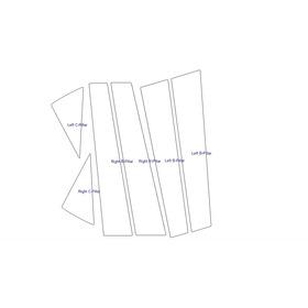 Protector Xpel Para Acabado Piano Seat Leon Cupra  2017-2020