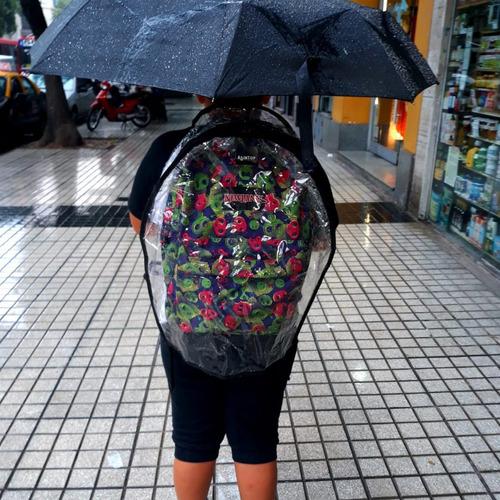 protector/cobertor/funda mochila impermeable backtop medium