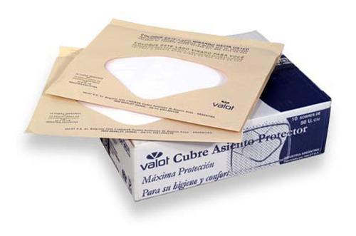 protectores asiento de inodoro descartables caja x 500 valot