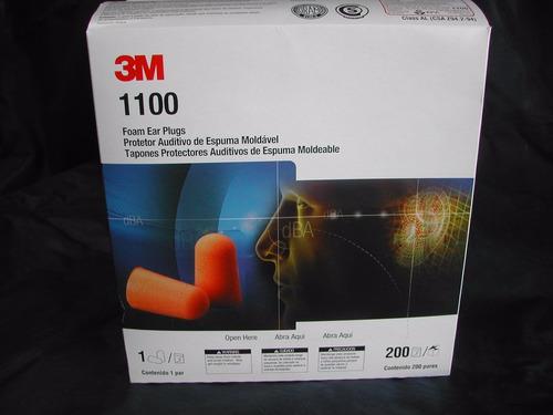 protectores auditivos 3m 1100 desechables