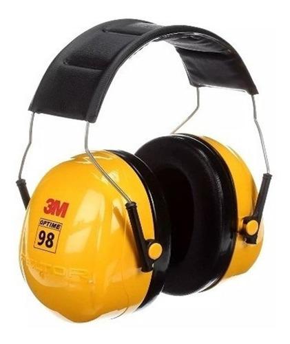 protectores auditivos, 3m peltor optime 98 h9a 25 db vincha