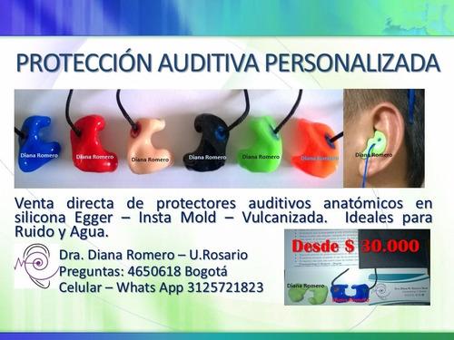 protectores auditivos a domicilio - todo bogotá