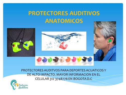protectores auditivos anatomicos en bogota
