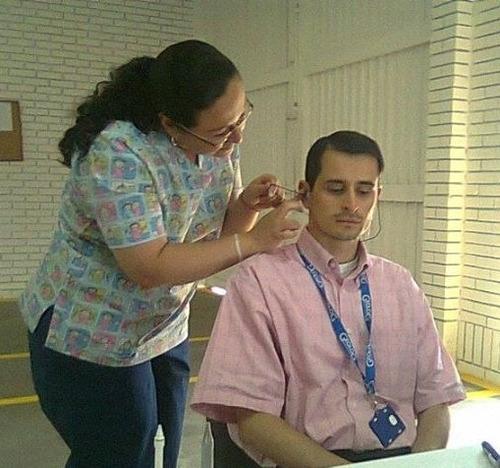 protectores auditivos anatómicos inserción en silicona