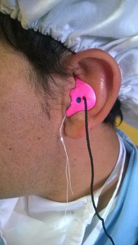 protectores auditivos vulcanizados - egger - insta mold