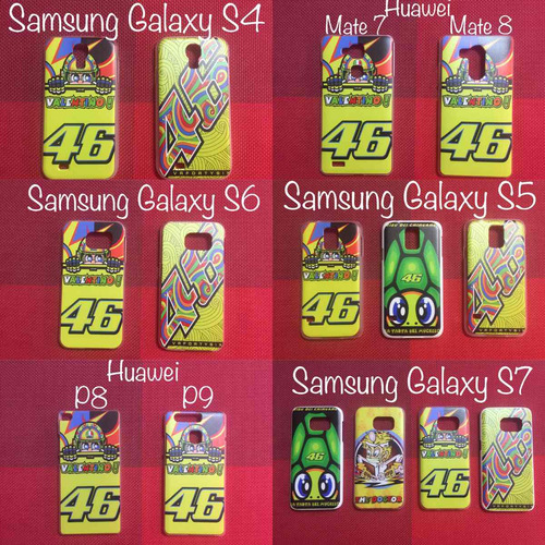 protectores celular iphone samsung lg valentino rossi moto