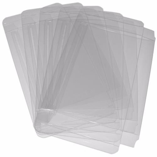 protectores cristalinos de pet para cajas de snes/n64