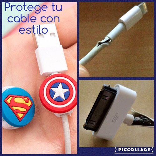 protectores de caritas para cables