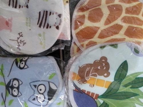 protectores de lactancia ecologicos lavables 2 pares bambu