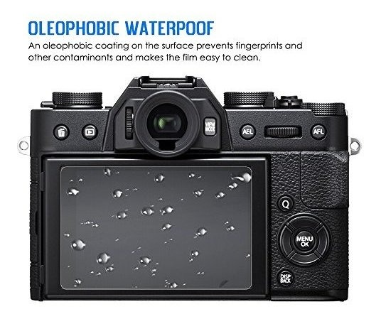 2x protector de pantalla FujiFilm X-T2 protección Film Protector de pantalla claro