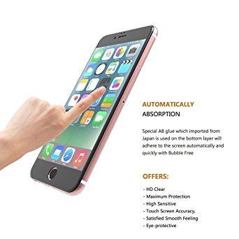 protectores de pantalla, iphone 6s protector de la panta..