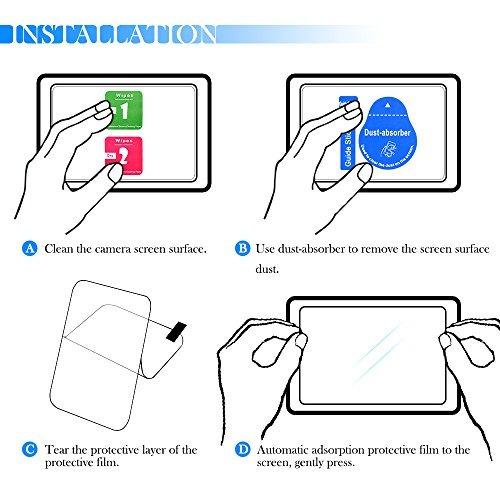 protectores de pantalla para sony a6500 ilce- envío gratis