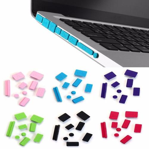 protectores de polvo puertos macbook pro 13 y 15