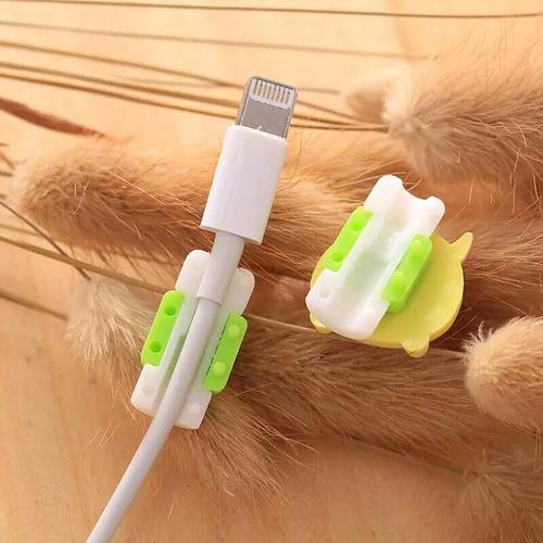 protectores del cable usb