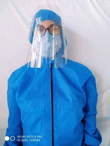 protectores faciales  de plástico pet