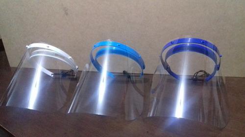 protectores faciales o caretas mica de 400 micras policarbon