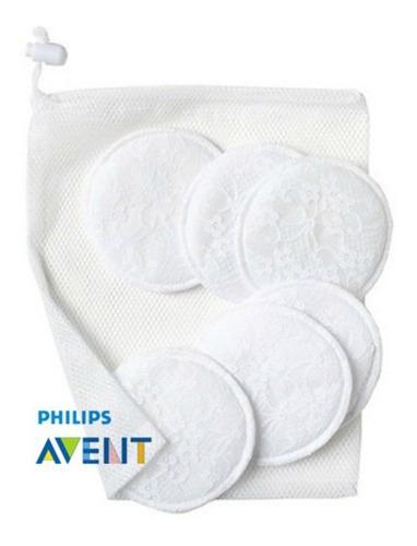 protectores lavables para lactancia materna avent