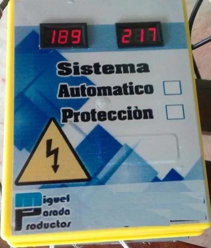 protectores monofasico 120 y bifasico 220v  desde 30 amp a 8
