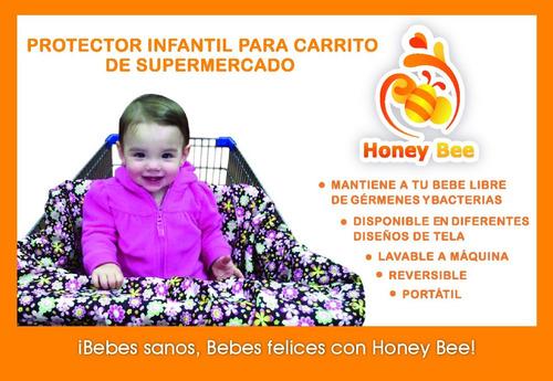 protectores para asiento de bebé en carrito de súper