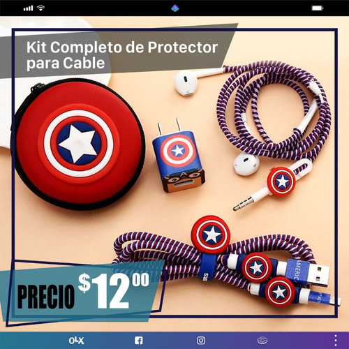 protectores para cable completos