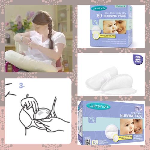 protectores para lactancia materna - 60 unidades descartable
