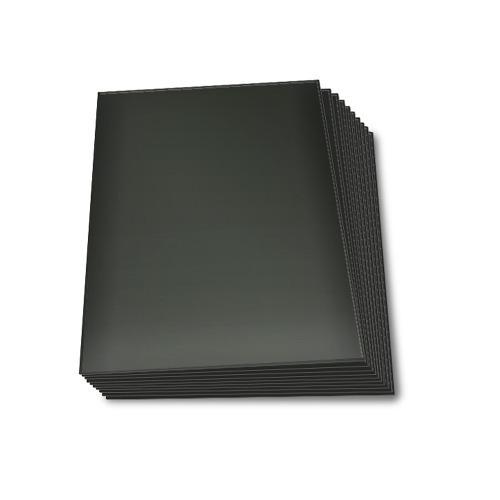 protectores topdeck myl 60u tamaño standard negro