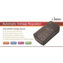 Regulador Voltaje Omega 1200s 650 Va Nuevo