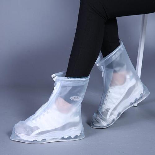 protectores zapatos impermeables lluvia barro 35al44 par t20