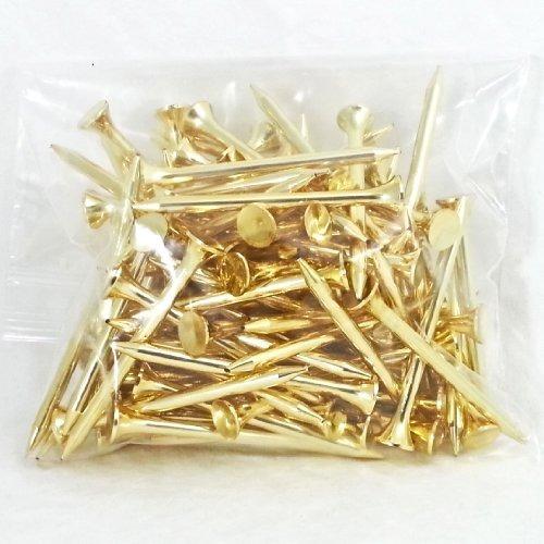 protee golf tees 100-pack), oro brillante