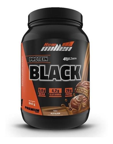 protein black 4w (840g) new millen