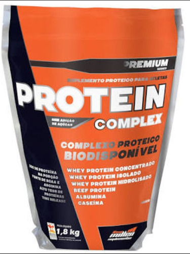 protein complex 1,8kg new millen baunilha