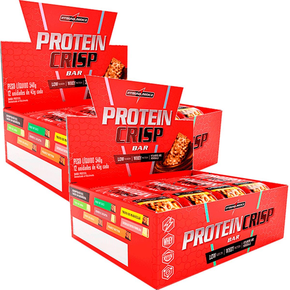 f43a6fa4c Características. Marca Integralmédica  Linha Body Size  Tipo de suplemento  BARRA DE PROTEINA  Nome Protein Crisp ...