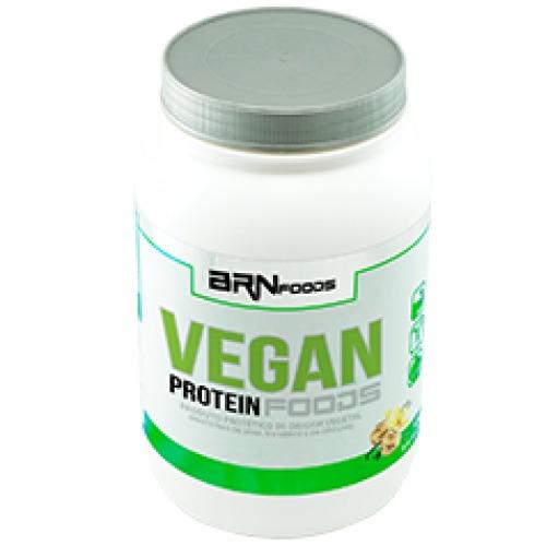 protein vegan 500g baunilha brnfoods