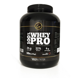 Proteína - 100% Whey Pro 5lb - Gold Nutrition