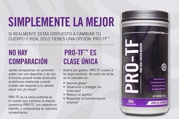 Proteina 4life Pro-tf. - S/ 340,00 en Mercado Libre