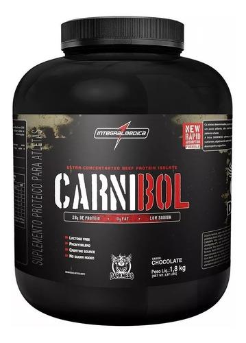proteína da carne carnibol - integralmedica darkness - 1,8kg