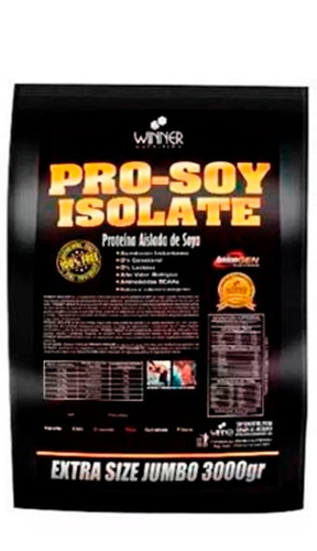 proteína de soya 3kg -0% lactosa 0% colesterol....oferta!!!