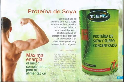 proteina de soya tiens: aumenta masa muscular