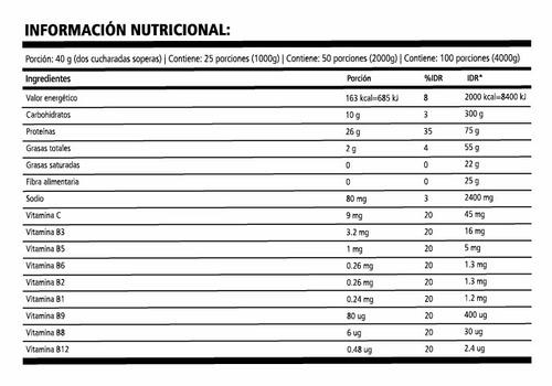 proteina de suero de leche de 3 kg de nutrilab