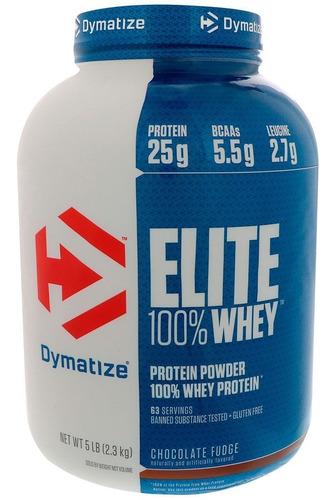proteina dymatize elite whey 5 lbs varios sabores suplemento