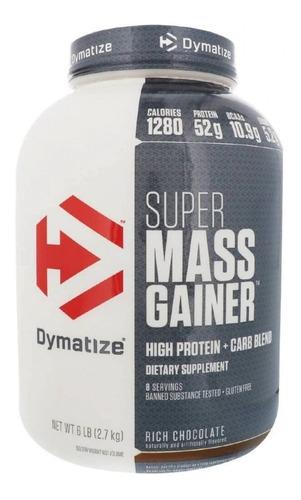 proteina dymatize ganador super mass gainer 6 lbs